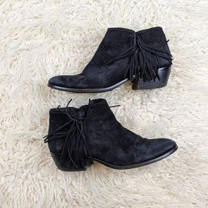 Shoes - Sam Edelman Fringe booties